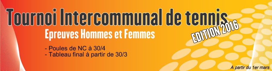 Tournoi intercommunal de Lucenay Tennis Club